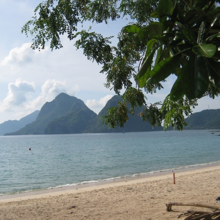 Beach in El Nido, Palawan